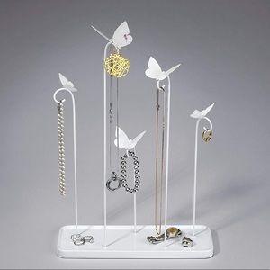 Umbra White Meadow Jewelry Stand Decor